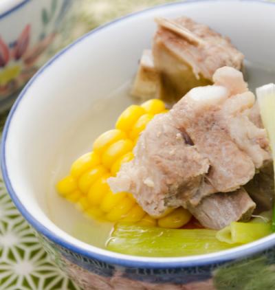 corn and pork ribs soup